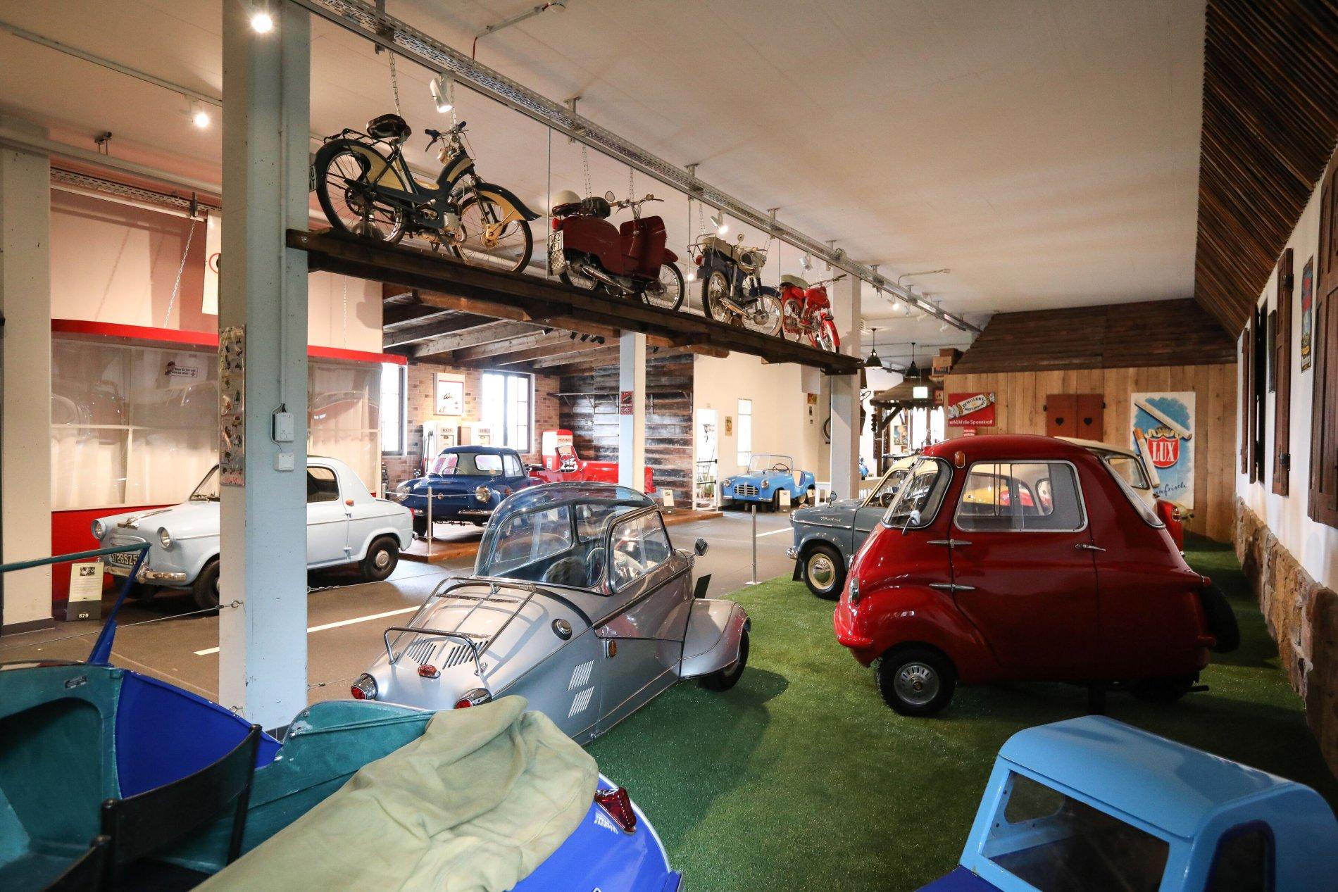 Historische Schätze im Auto & Traktor Museum
