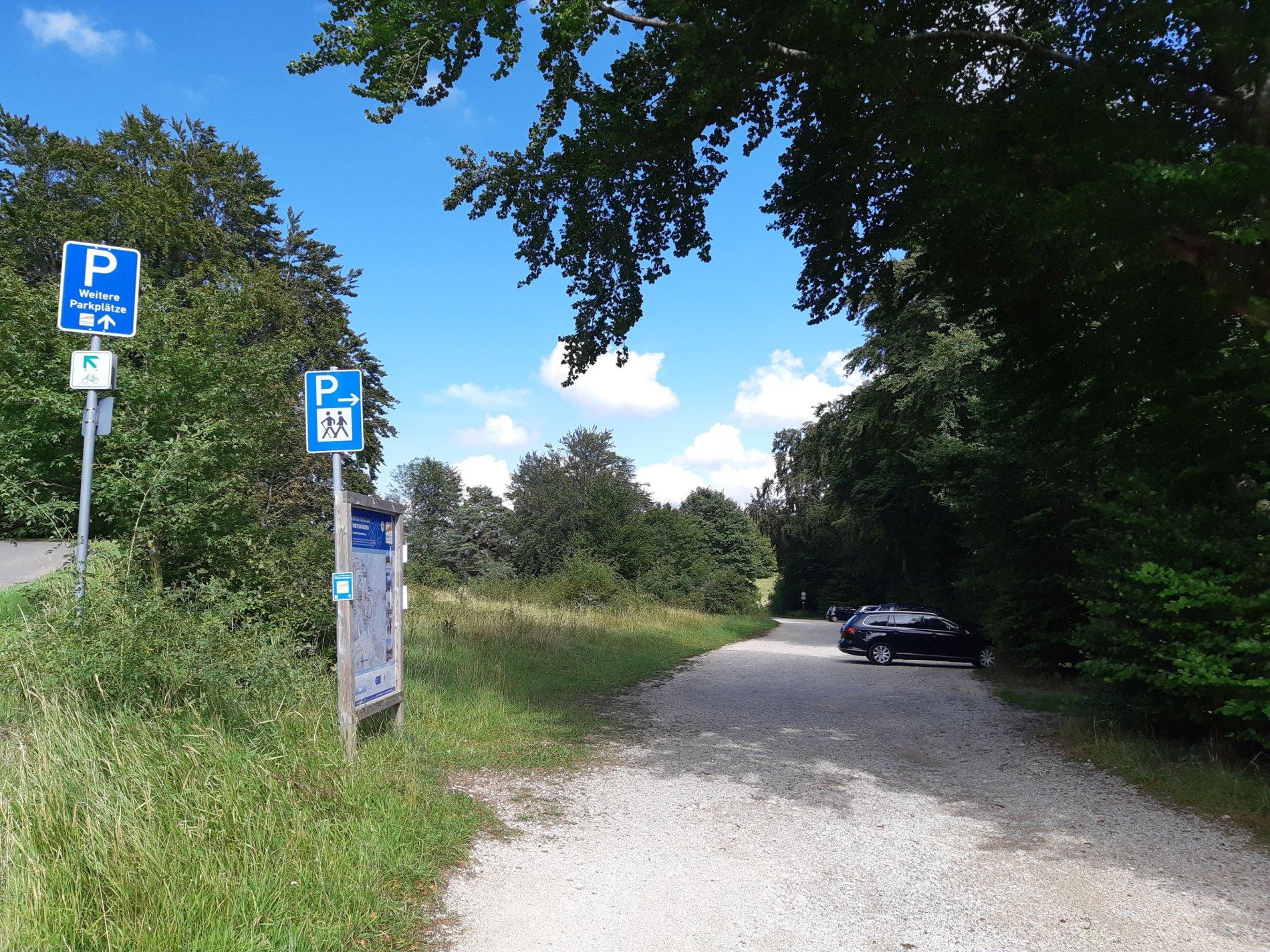 Parkplatz Langer Weg in Albstadt-Onstmettingen