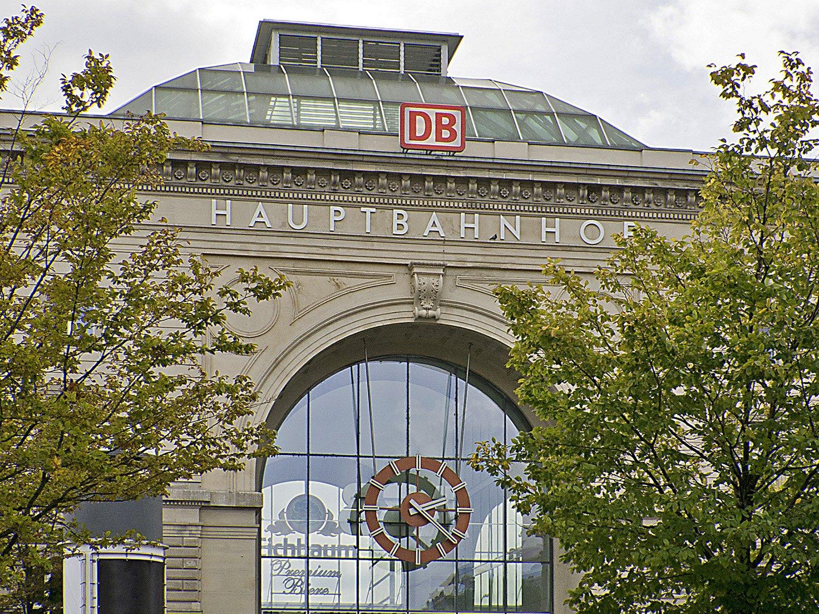 Mannheim Hauptbahnhof, Haupteingang