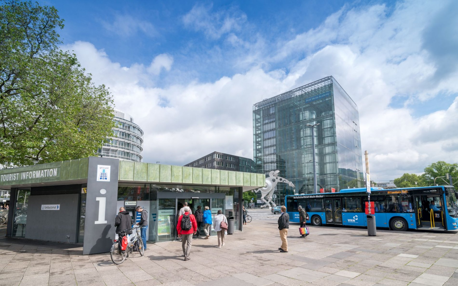 Tourist Information am Hauptbahnhof