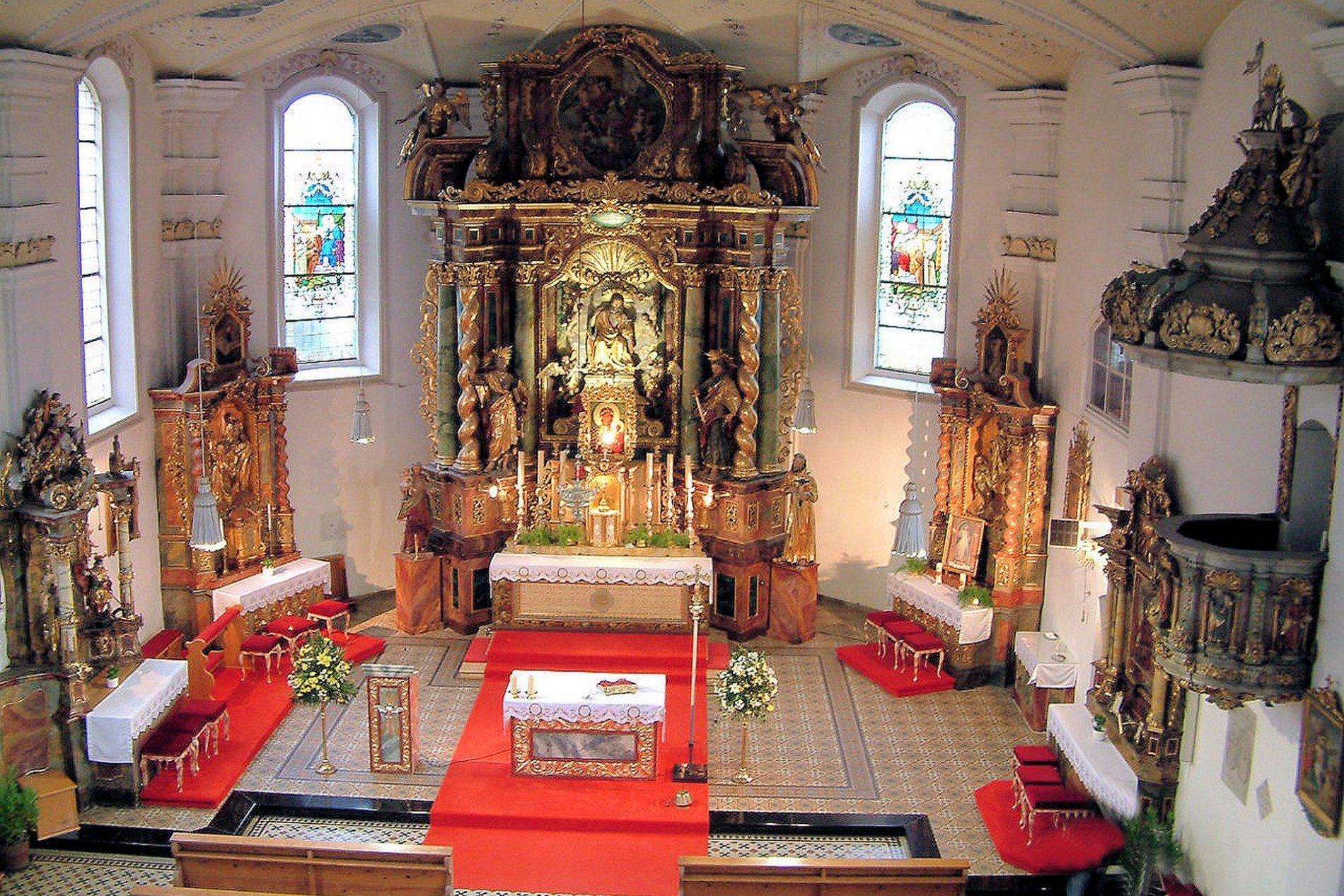 Klosterkirche des Paulinerklosters in Mainburg