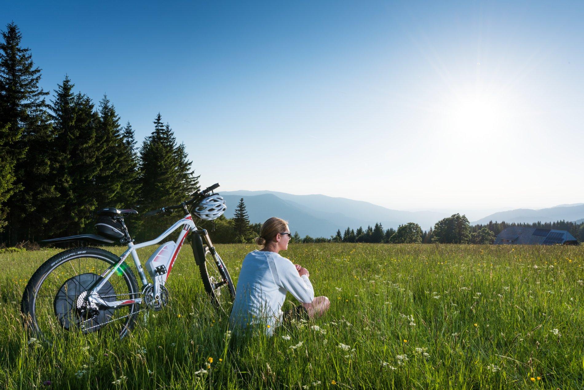 Leihen Sie sich Ihr E-Mountainbike im Ferienland Schwarzwald