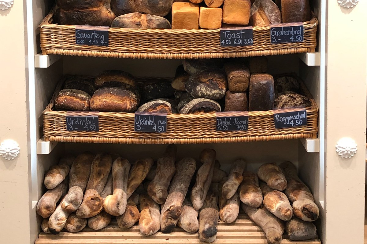 Bäckerei Müller, Solothurn, Brotauswahl