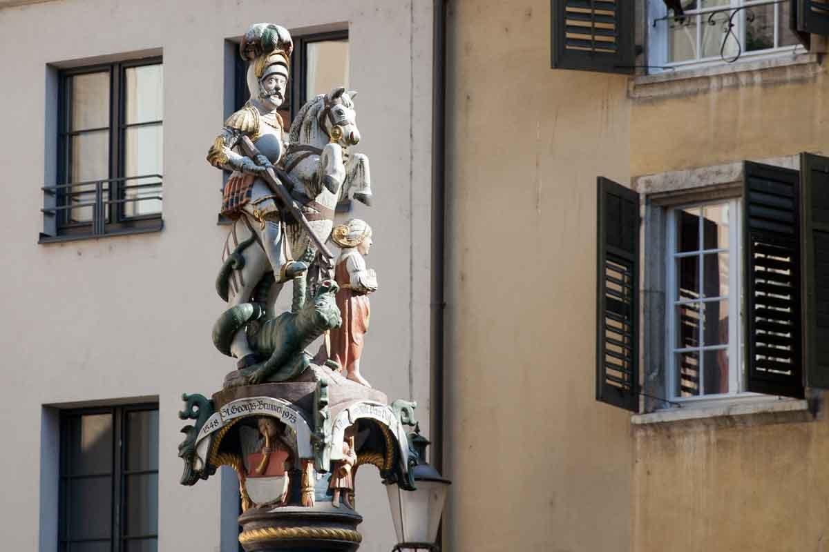 St. Georgs-Brunnen