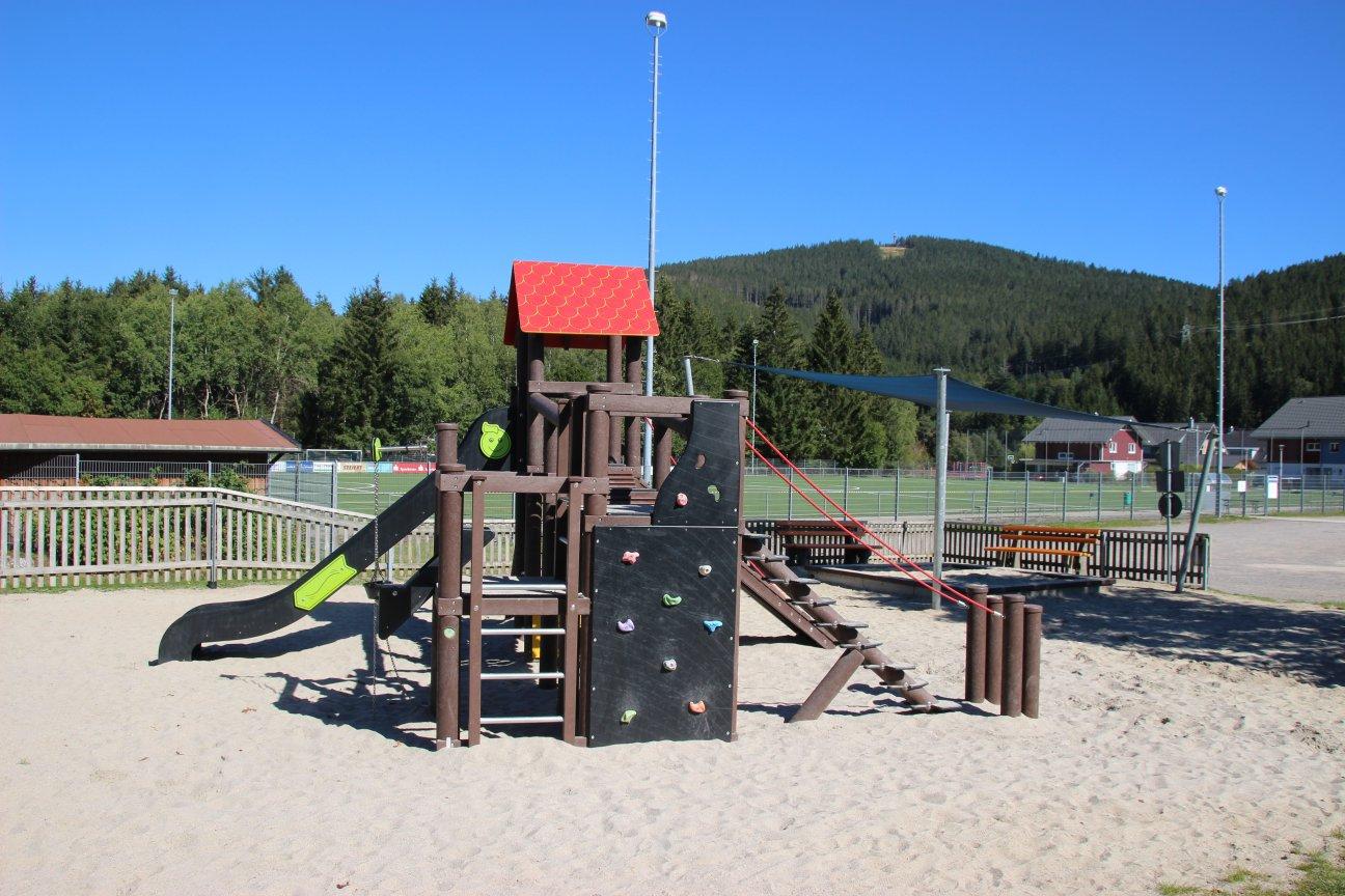 Spielplatz Sportplatz