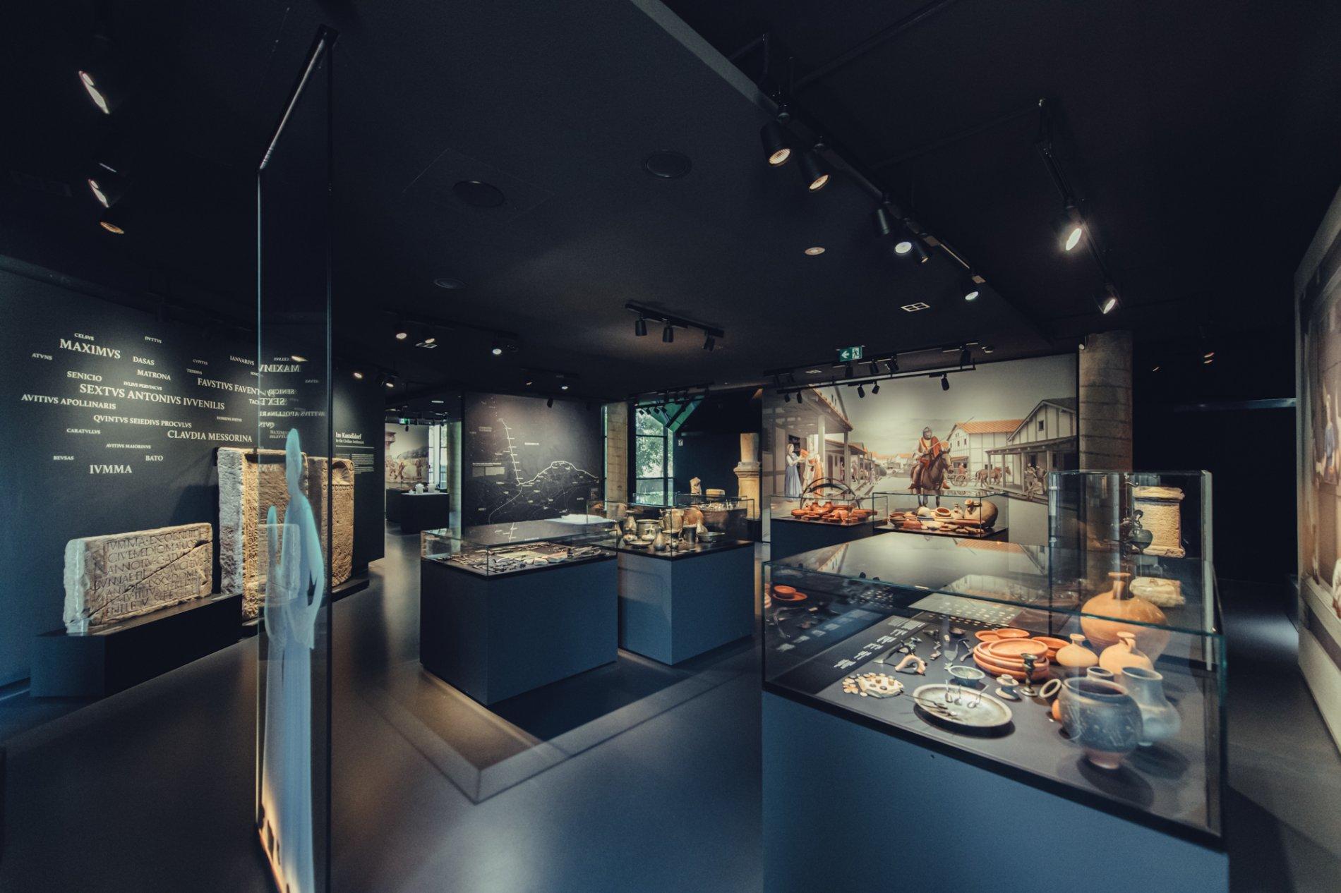 Archäologischer Park im Limesmuseum in Aaalen