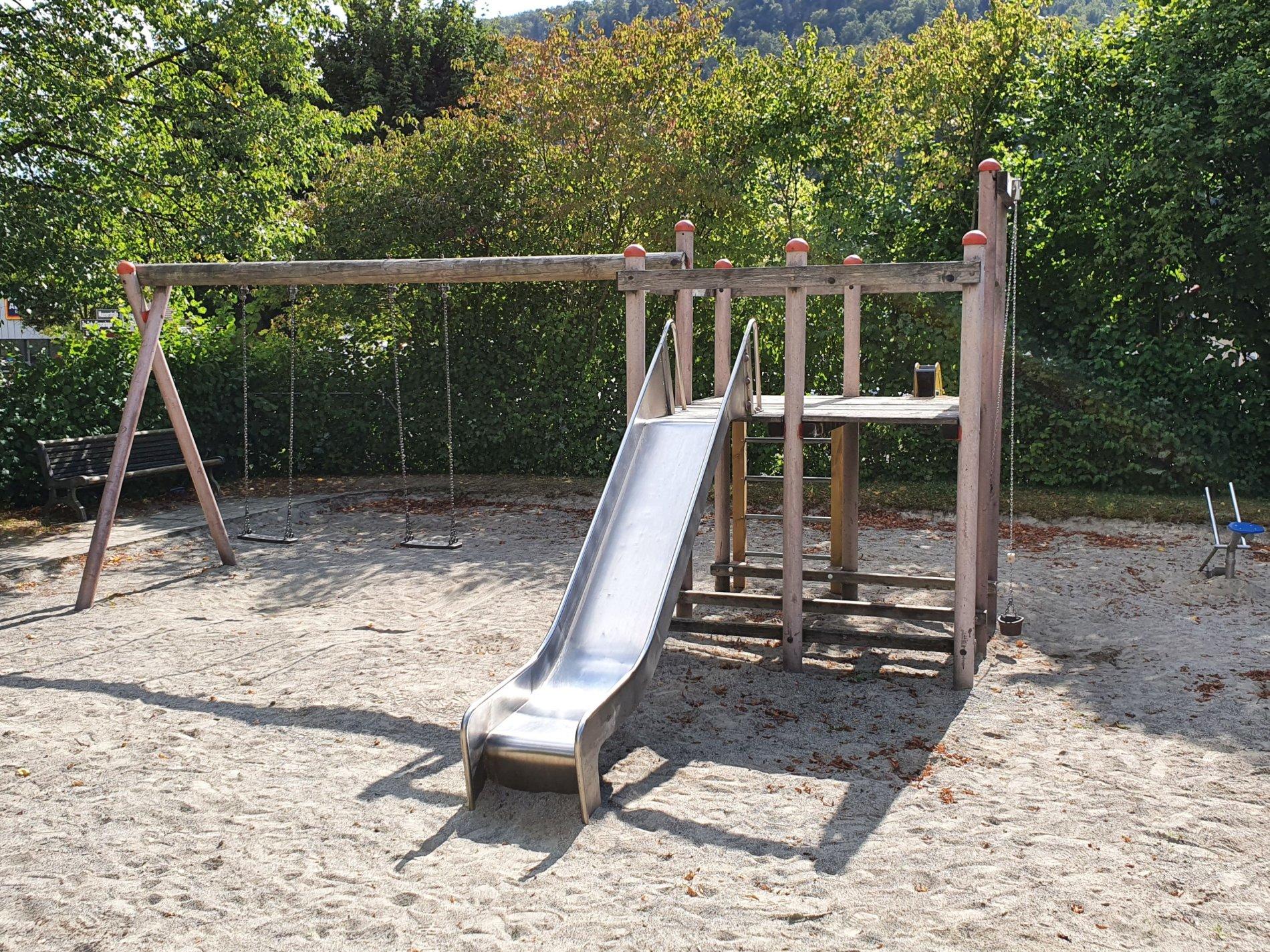 Spielplatz Maurerstraße-Viel Platz zum Spielen!