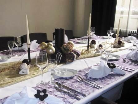 La Medusa gedeckter Tisch