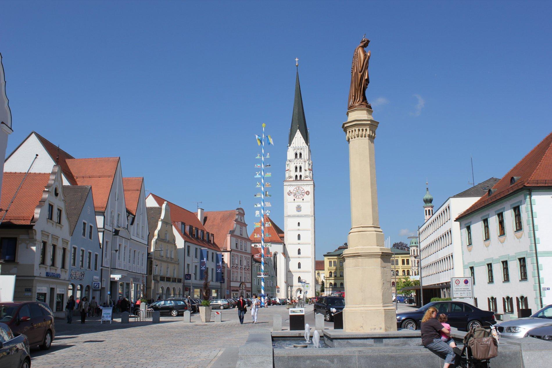Hauptplatz Pfaffenhofen