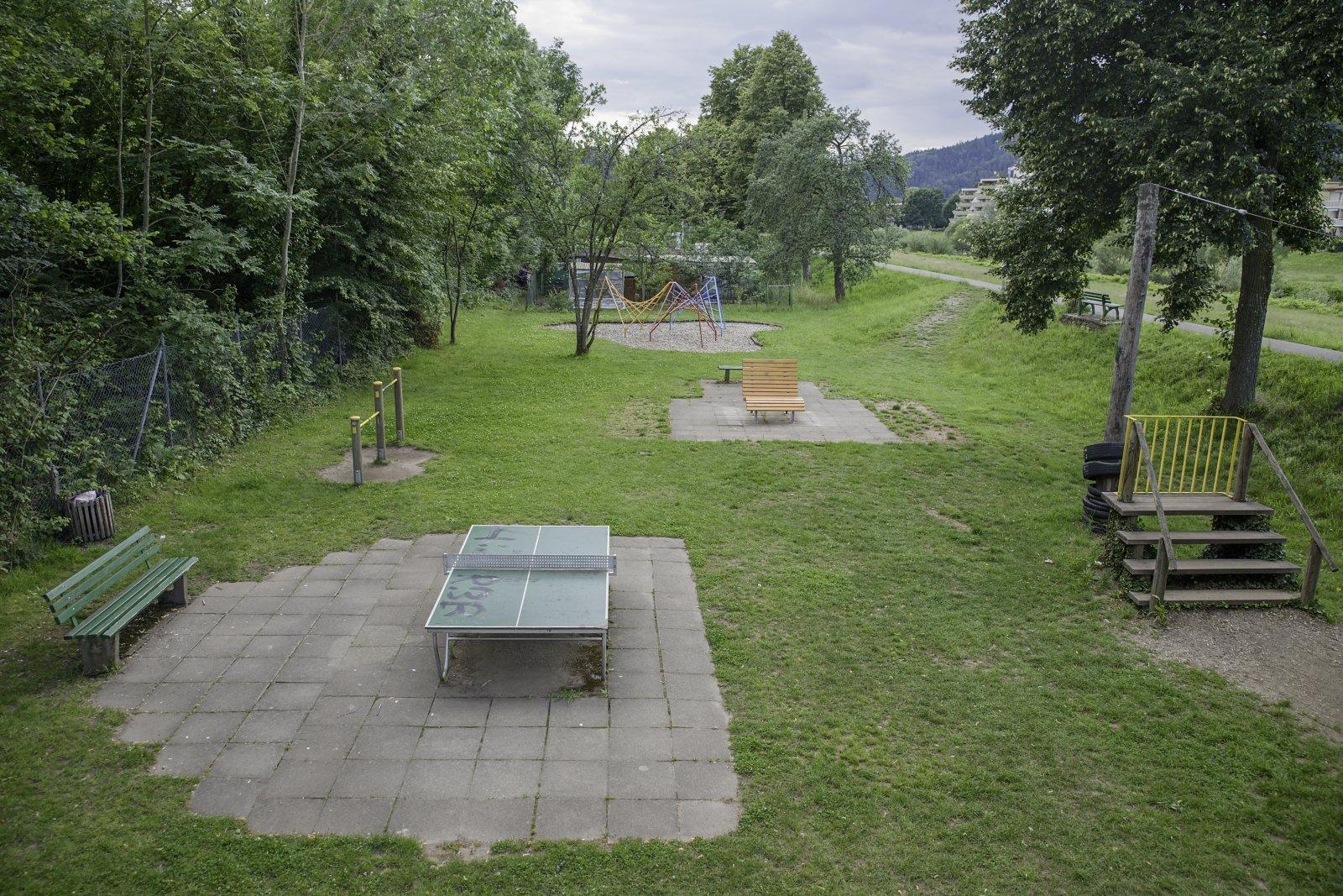 Gesamtansicht Spielplatz Kinzigvorland