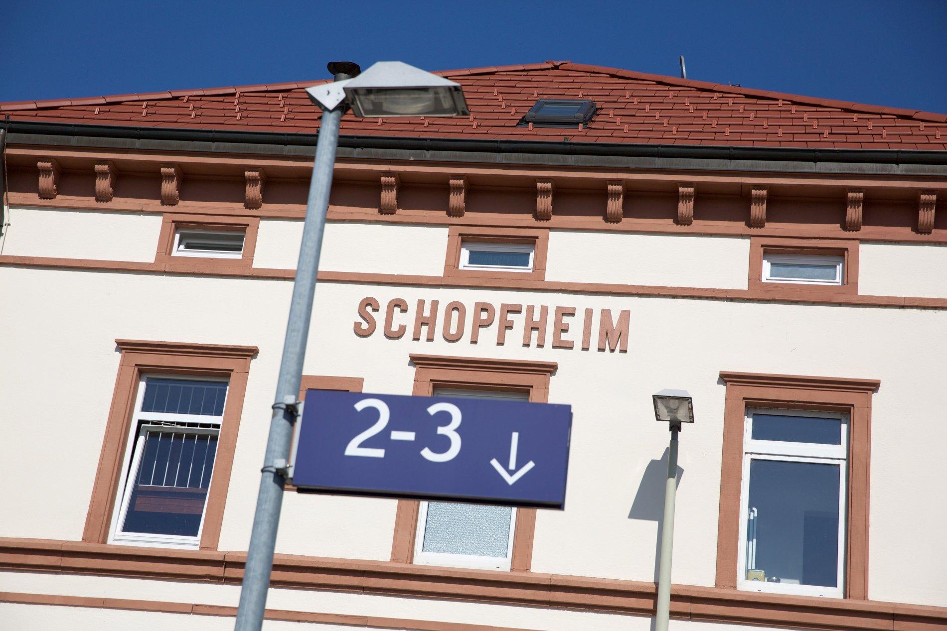 Bahnhof Schopfheim