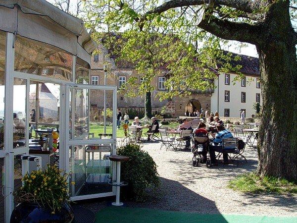 Biergarten & Schirmbar Burg Stettenfels | HeilbronnerLand