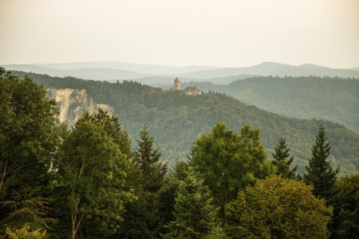 Wachenburg Weinheim mit Steinbruch