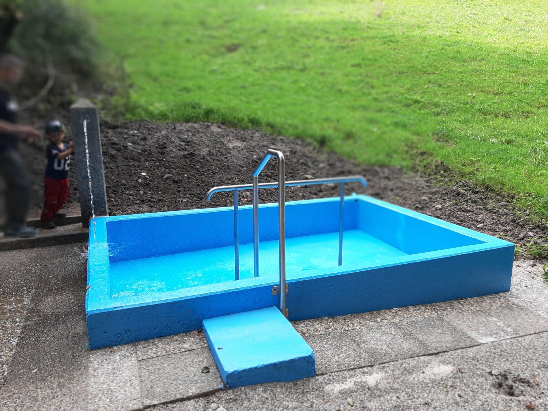 Wassertretstelle Heidenhof