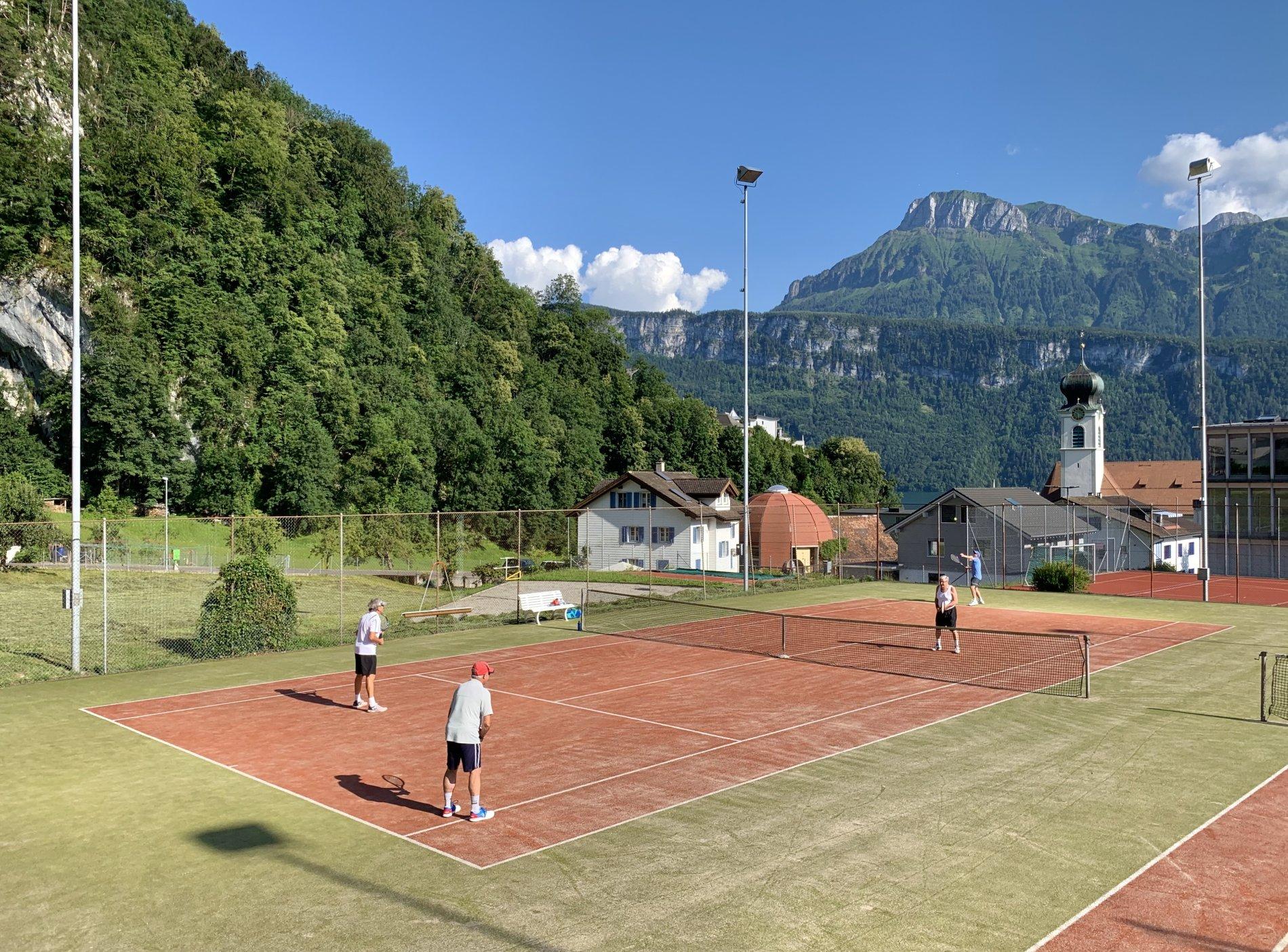 Tennisplatz Gersau