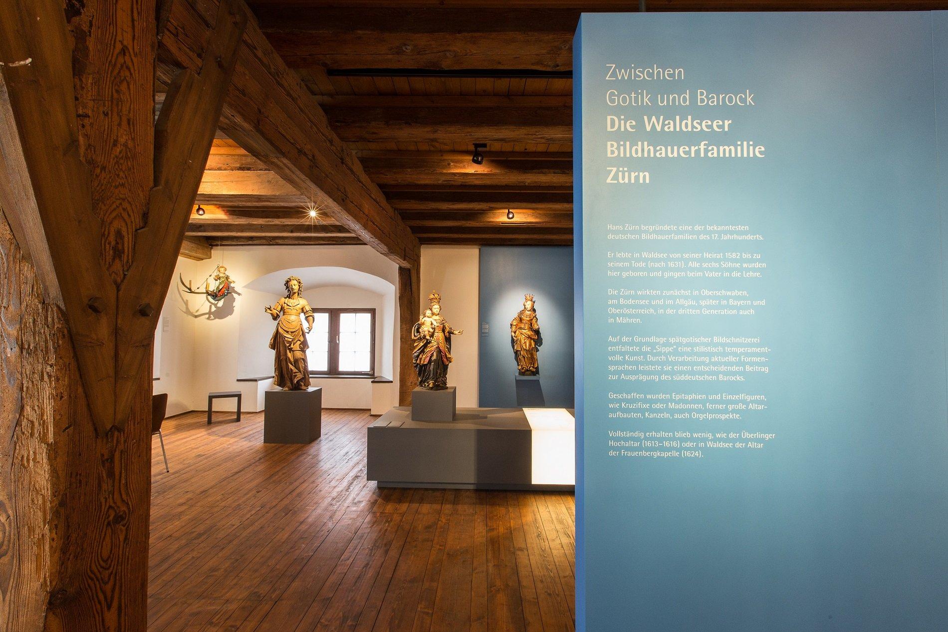 Zürnfiguren im Museum