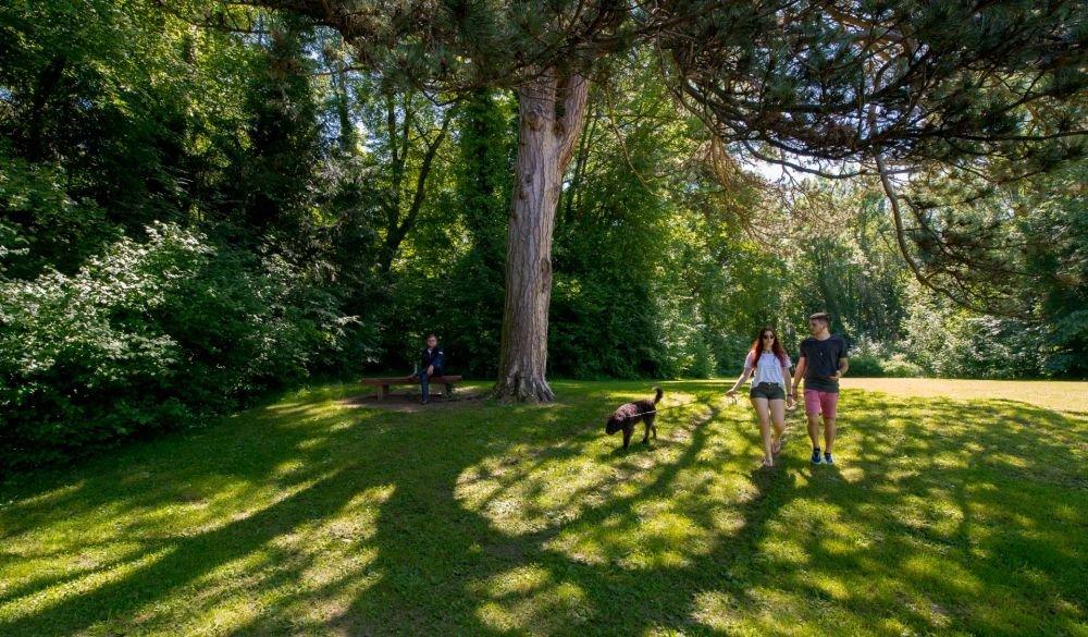 Spaziergang durch den Fürstengarten Hechingen