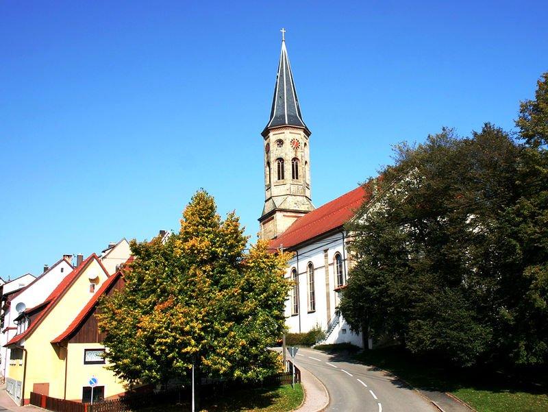 Stadtkirche St. Peter und Paul in Schömberg