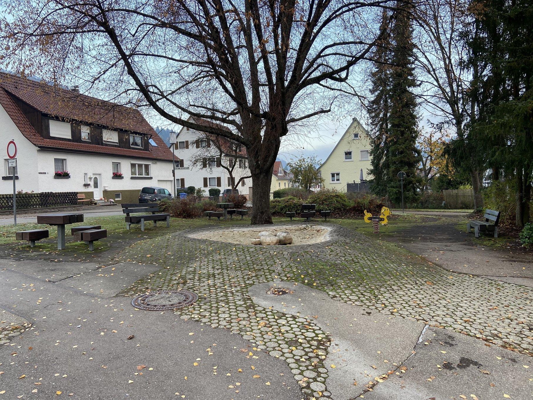 Spielplatz Steigstraße Albstadt-Viel Platz hier!