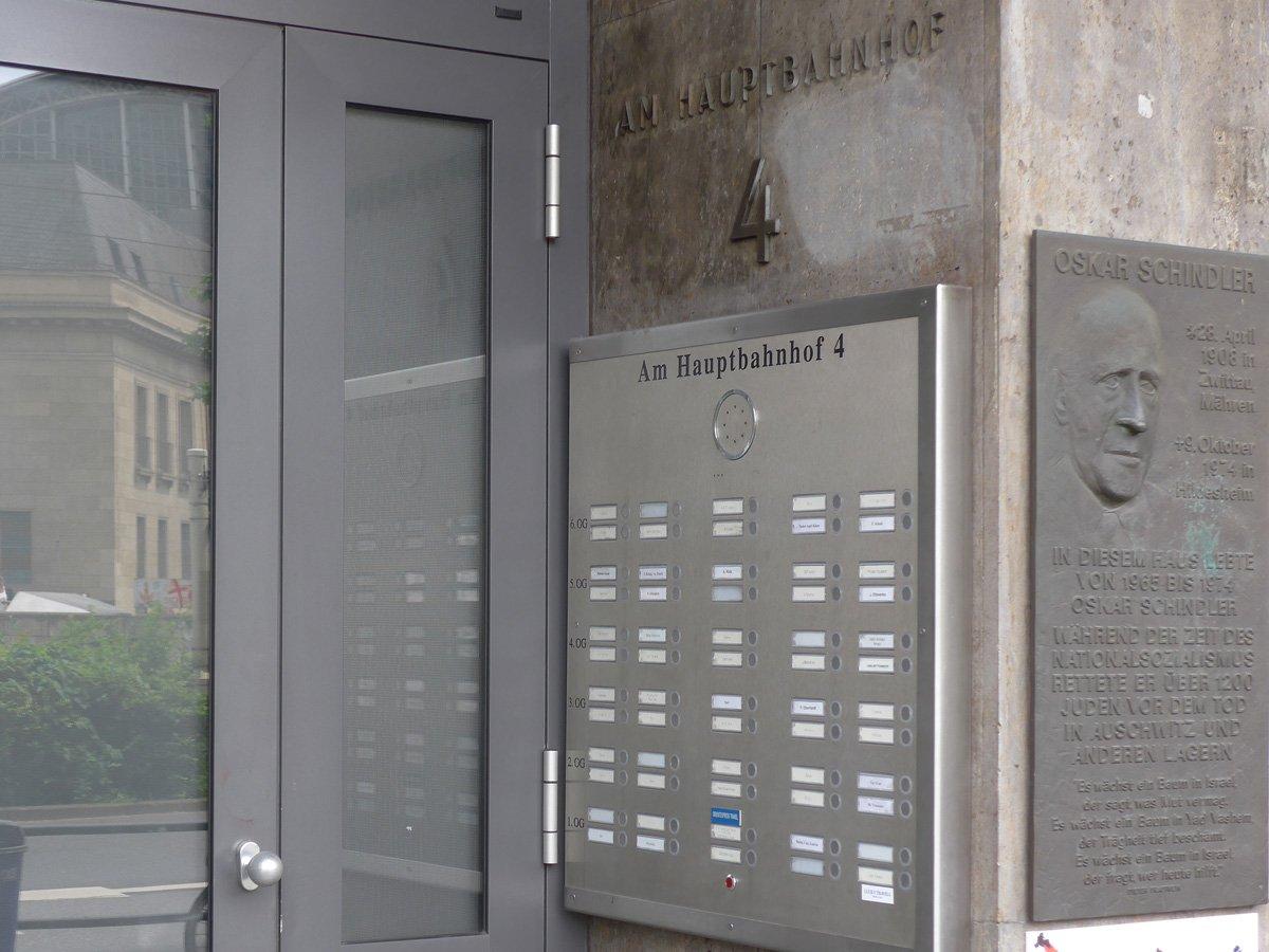 Wohnhaus von Oskar Schindler