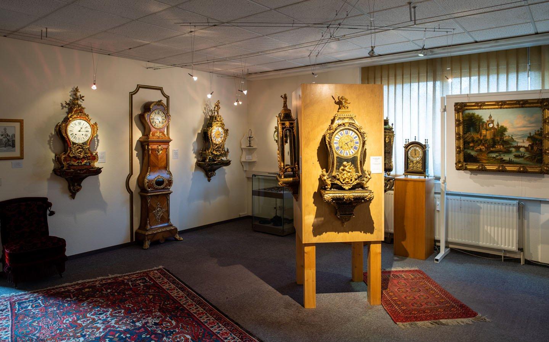 Uhrendetail im Uhrenmuseum Blieskastel