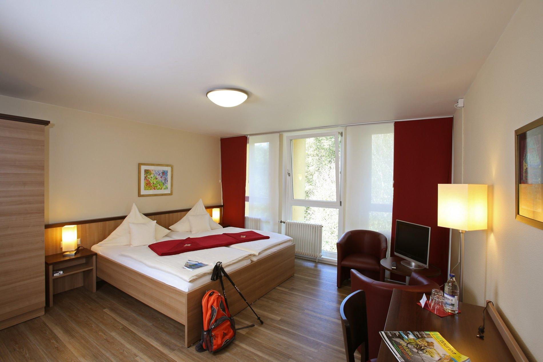 Doppelzimmer im Regina Pacis