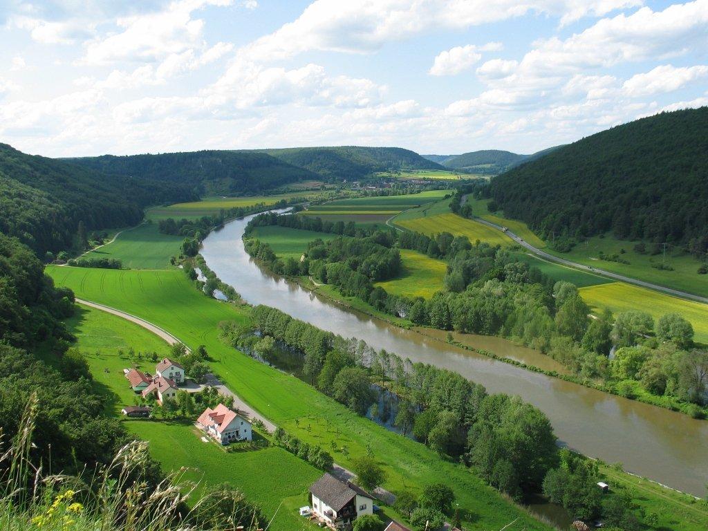 Blick ins Altmühltal bei Riedenburg