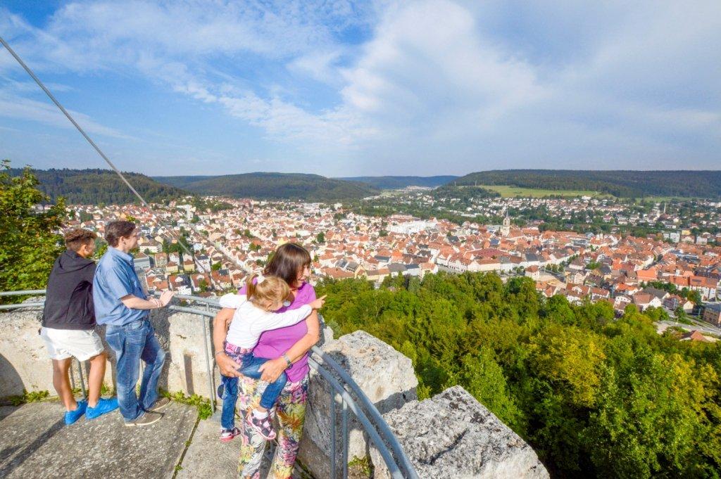 Ausblick auf die Stadt Tuttlingen