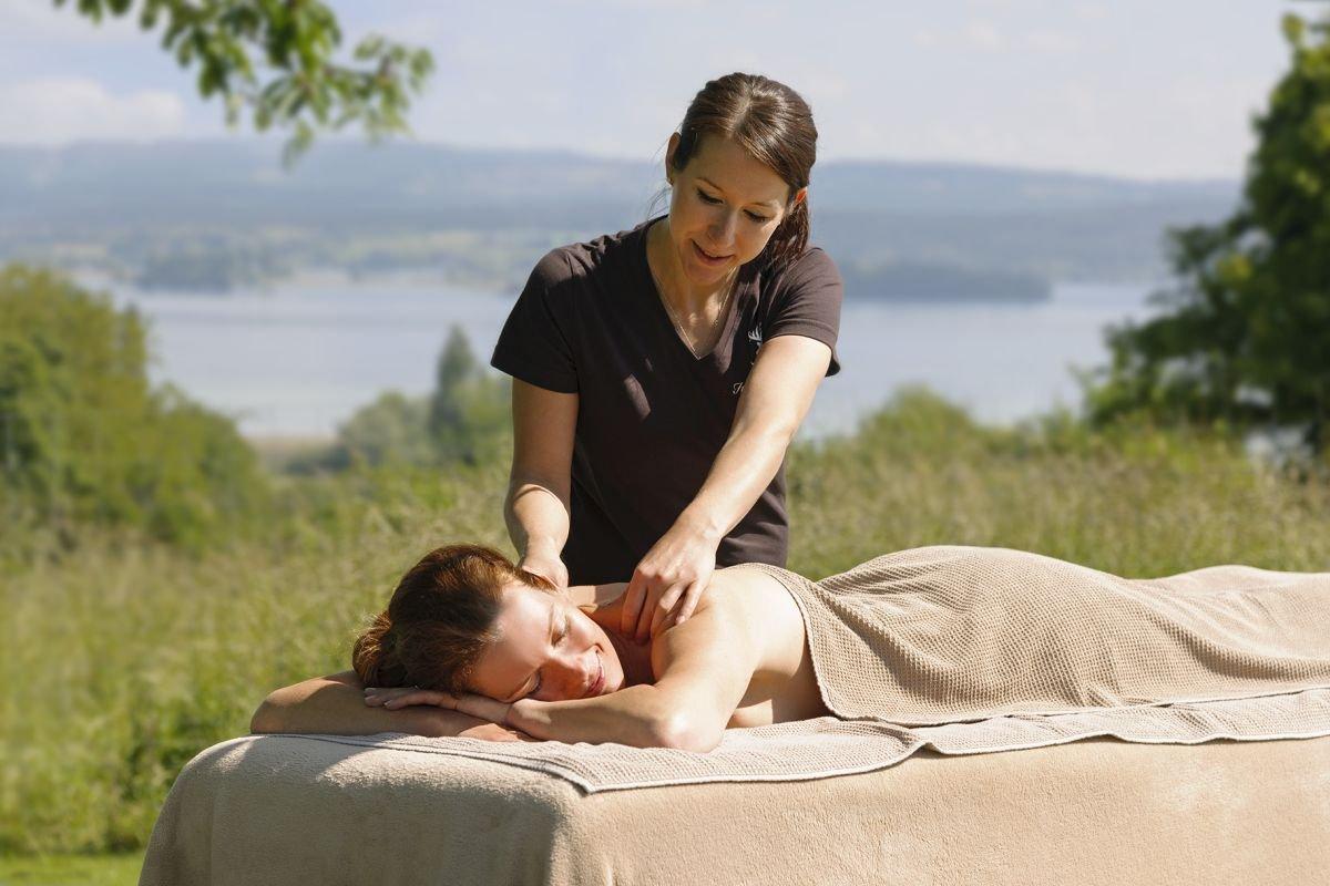 Massage im InselSpa im Hotel Hirschen