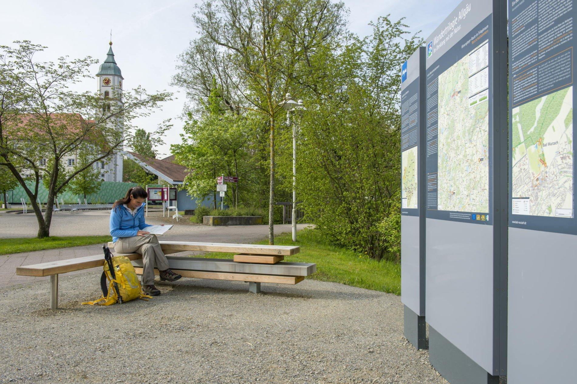 Start- und Willkommensplatz, Bad Wurzach