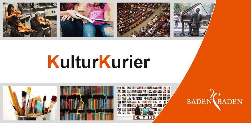 Newsletter KulturKurier des Kulturbüros Baden-Baden