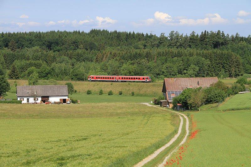Seitenblicke ermöglicht die Räuberbahn Pfullendorf - Aulendorf