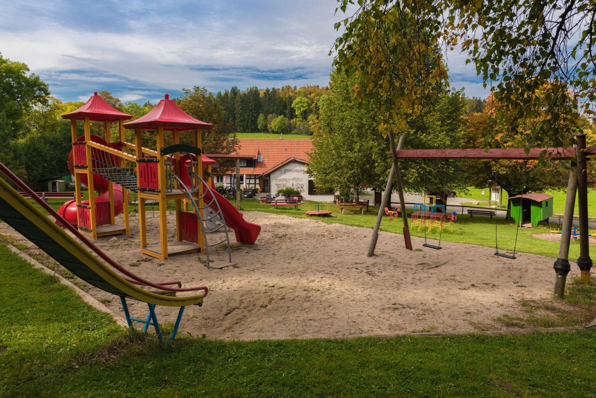 Wunderschön gelegener Spielplatz Ochsenberg