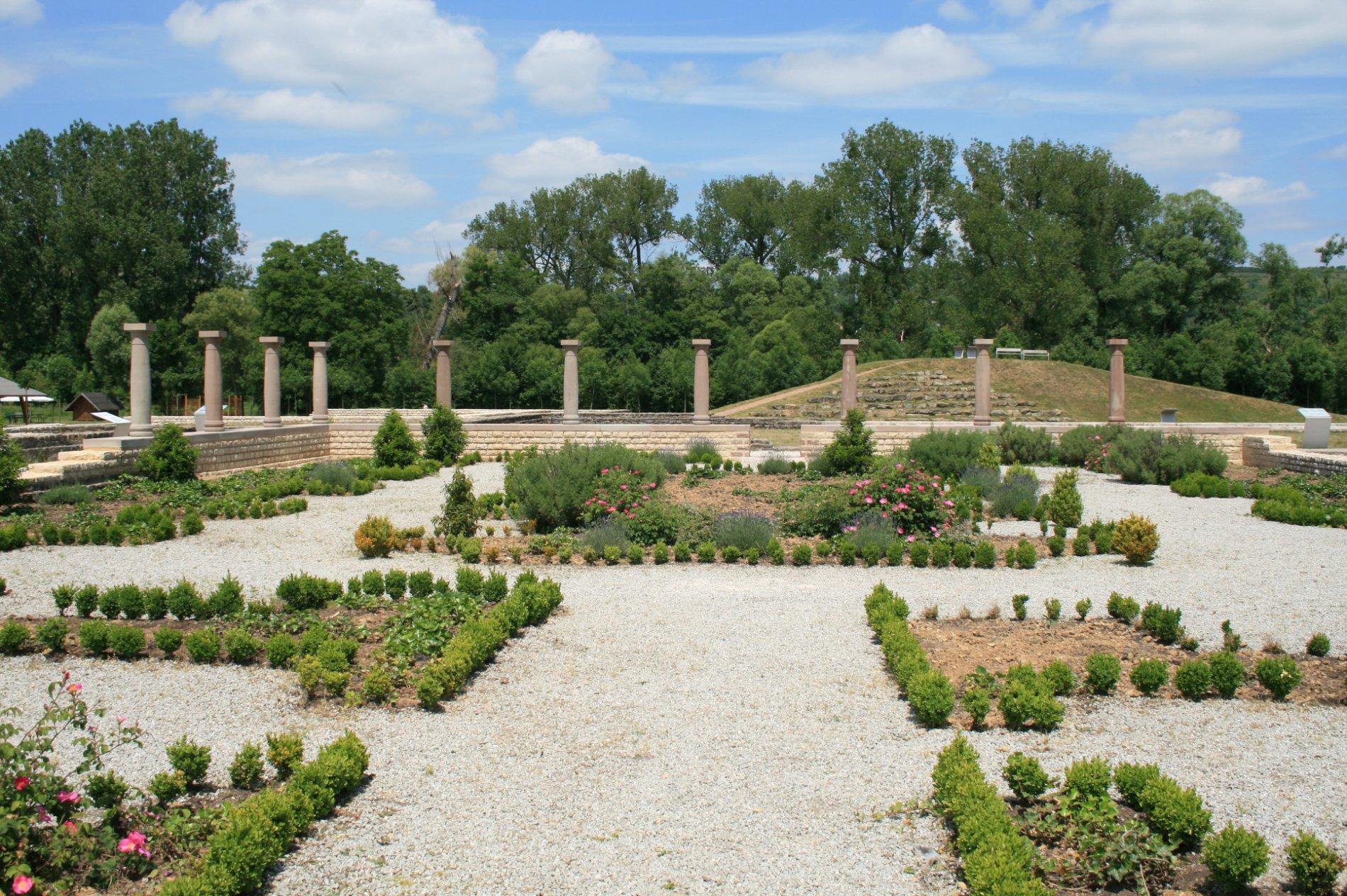 Römischer Garten im Europäischen Kulturpark