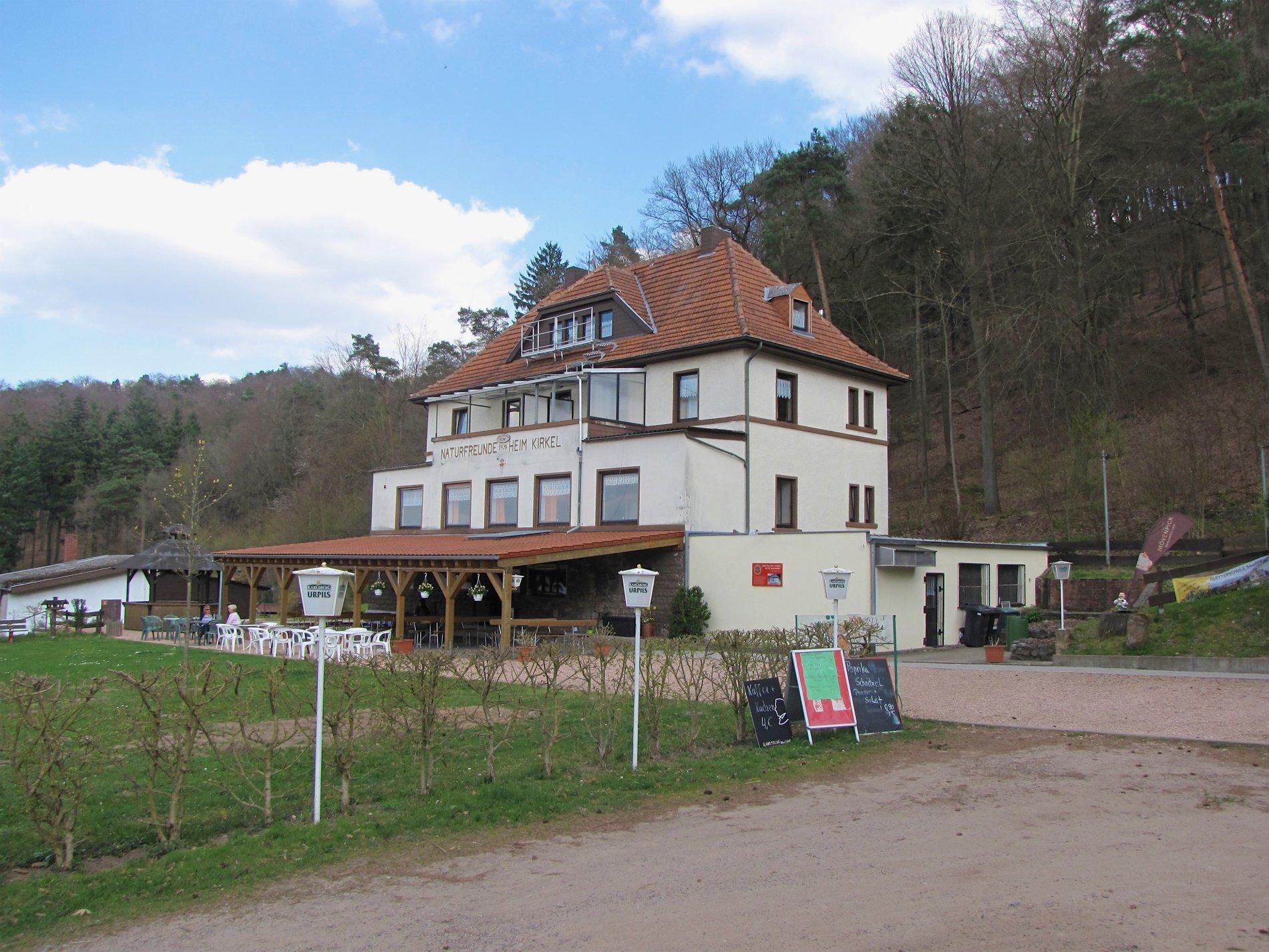 Naturfreundehaus Kirkel - Außenansicht