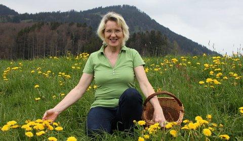 Heilpflanzenfrau