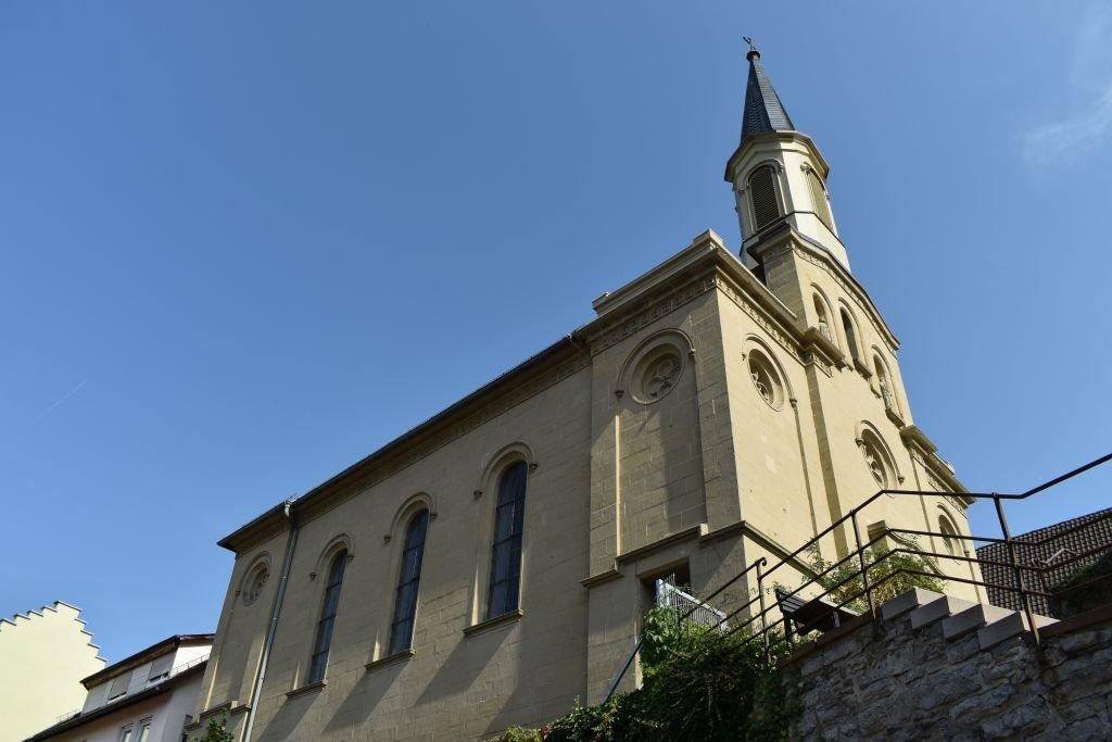 Außenansicht Evangelische Kirche Haigerloch