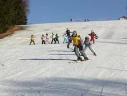 Skispaß am Skilift in Mauth