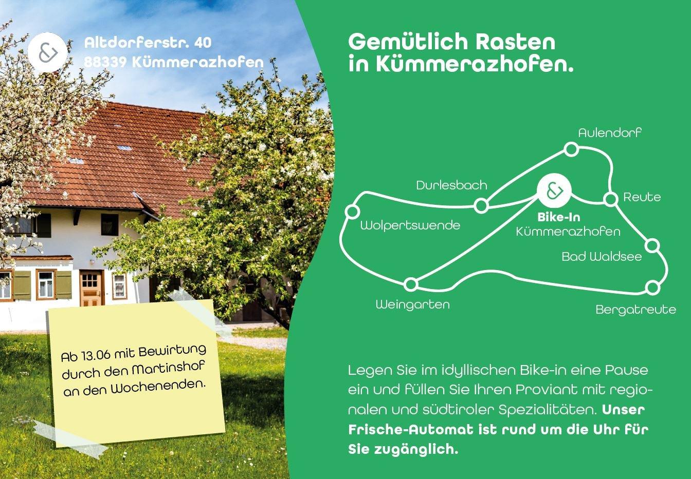 Flyer des Bike In Kümmerazhofen