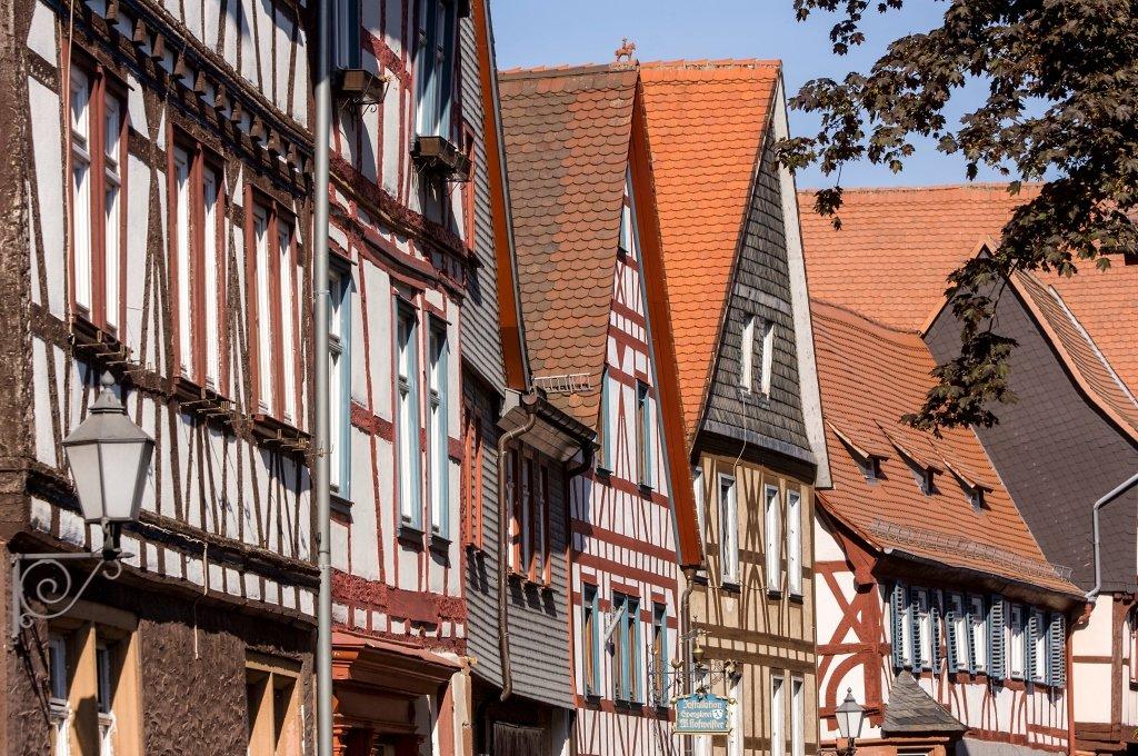 Fachwerkhäuser in Büdingen