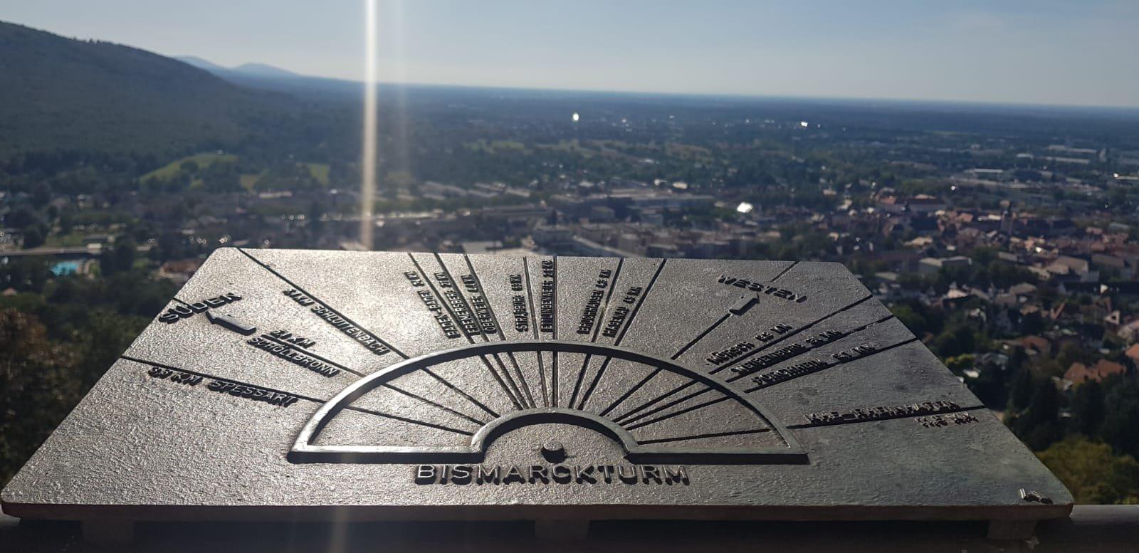 Aussicht vom Bismarckturm