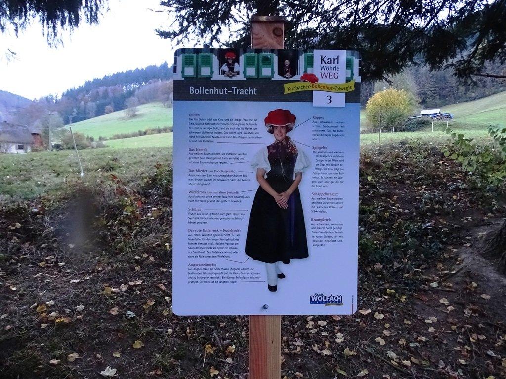 Kirnbacher Bollenhut Talwegle - Tafel 3