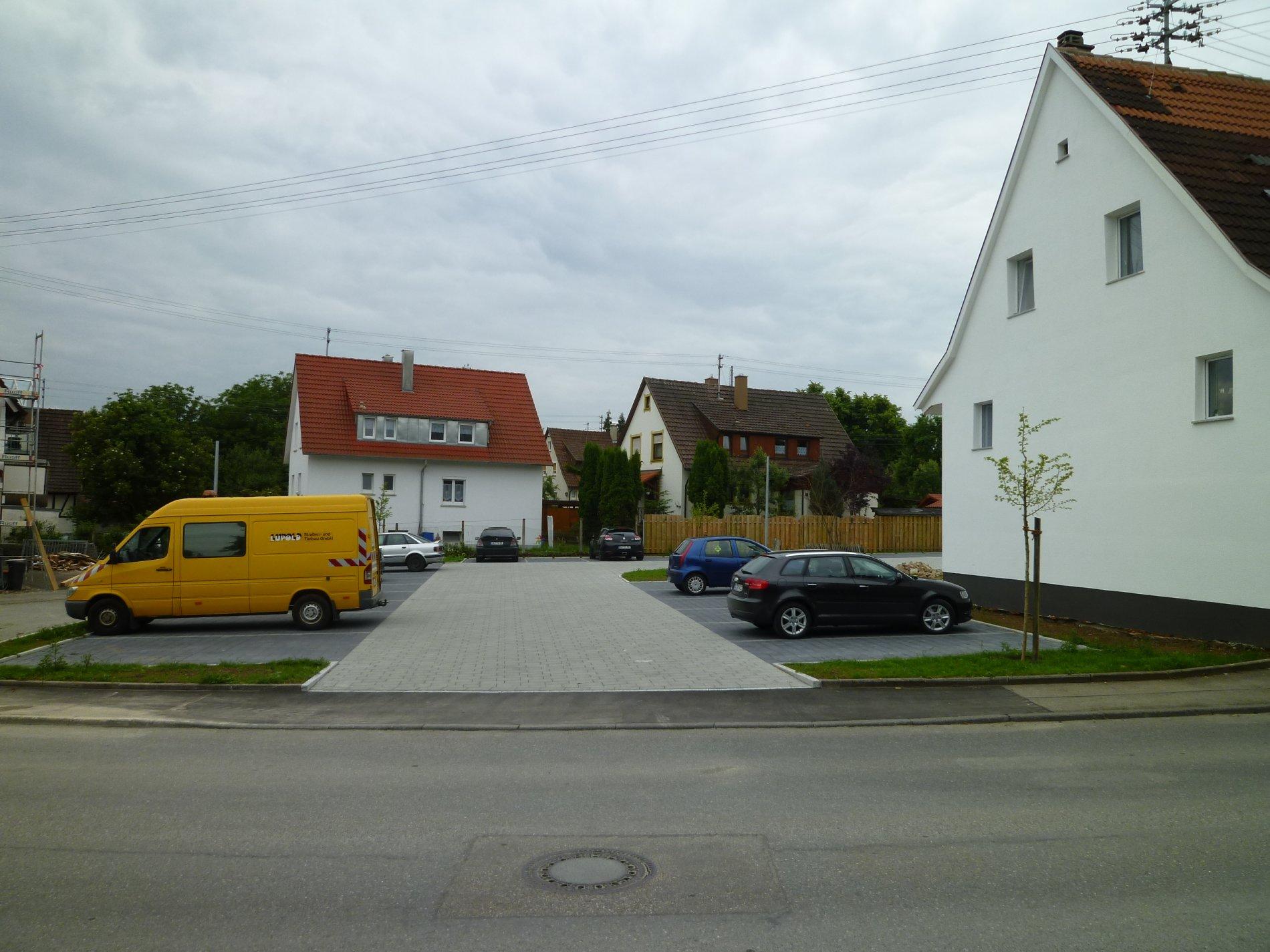 Parkplatz in der Nähe vom Postplatz