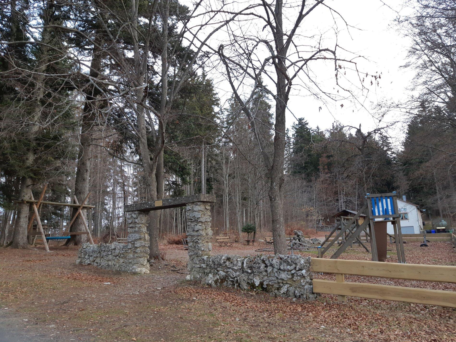 Viel Spielspaß auf dem Waldspielsplatz Schönhalde in Albstadt-Truchtelfingen