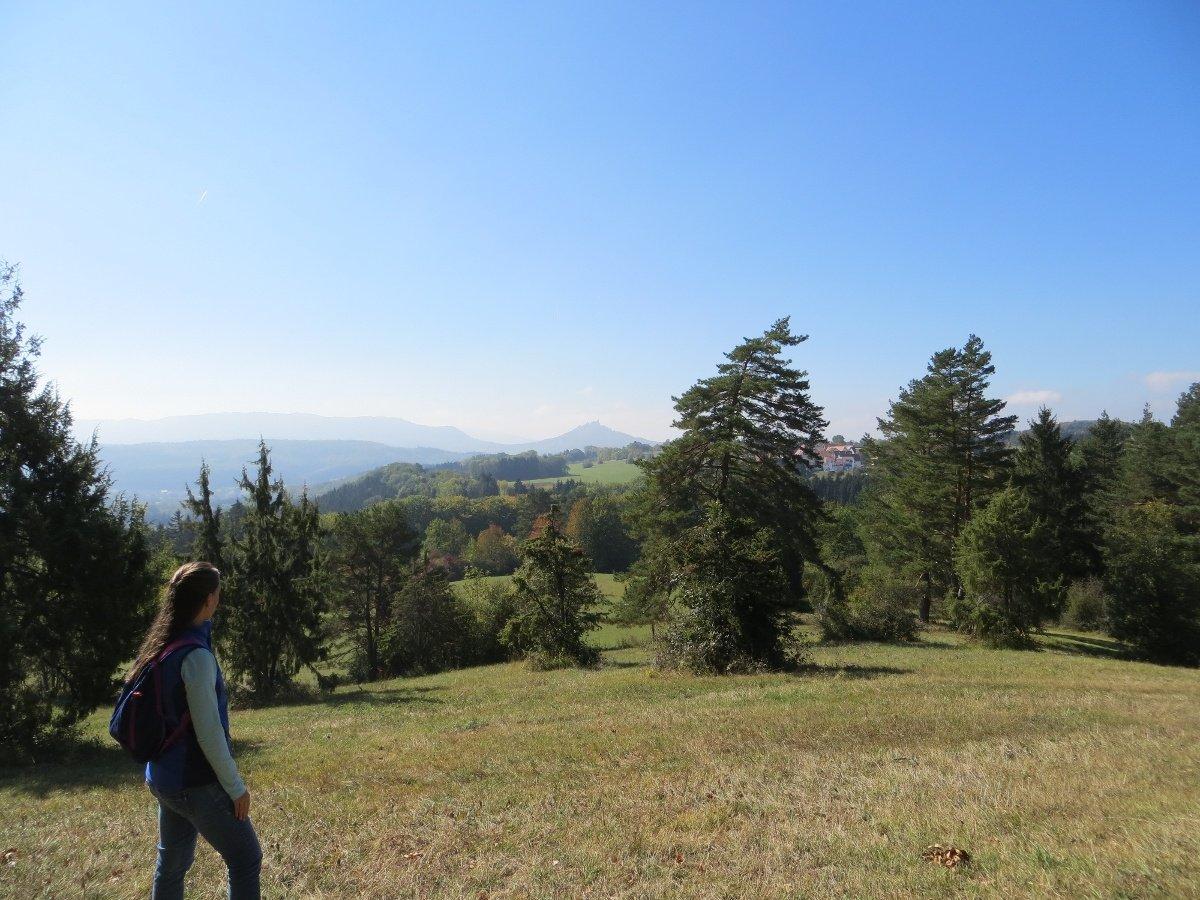 Aussicht vom Aussichtspunkt Jokenplatz