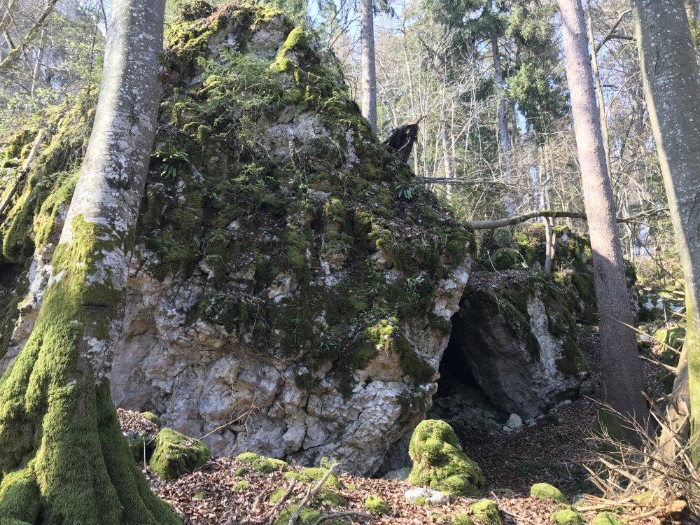 Emmafelsen an der Raichberg-Tour