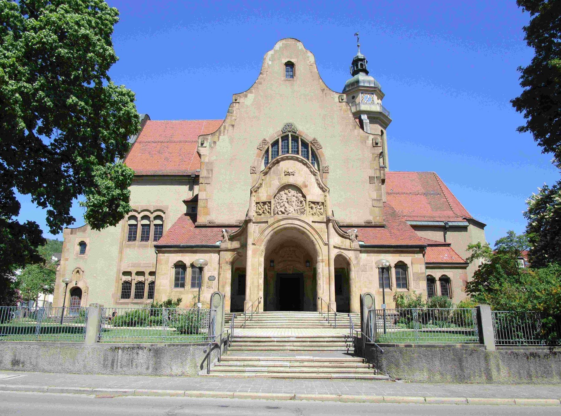 Martinskirche im Jahre 1905