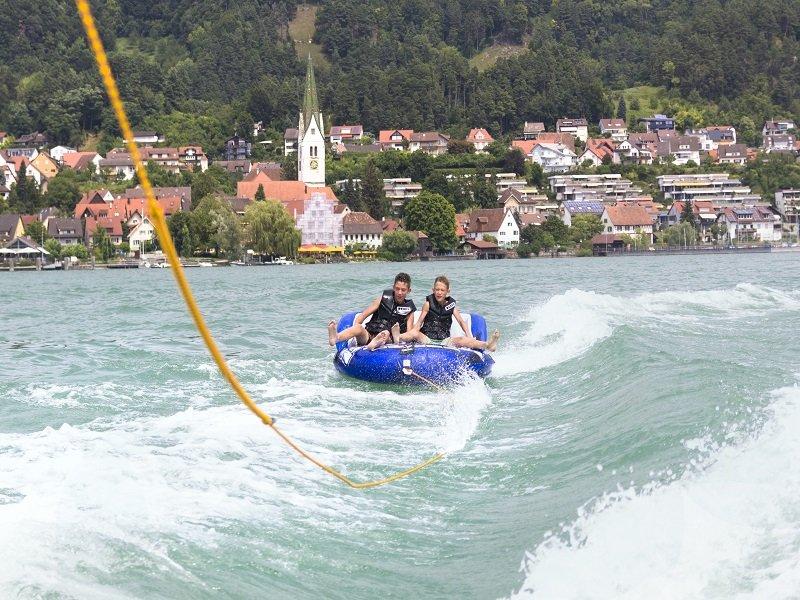 Funsportarena auf dem Bodensee