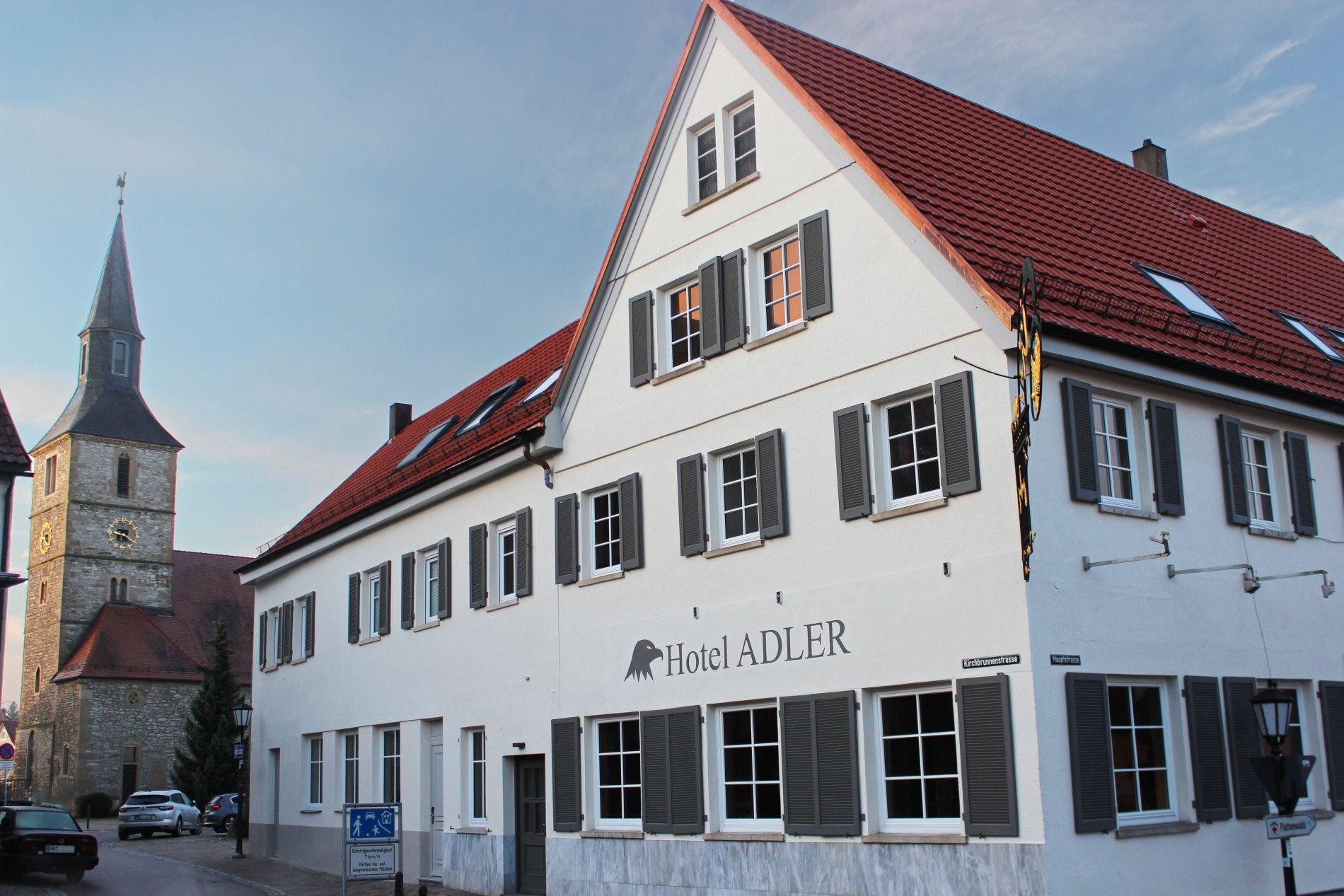 Außenansicht Hotel Adler - Bad Friedrichshall - HeilbronnerLand