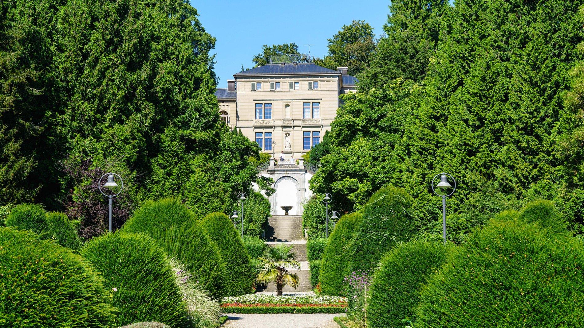 Villa Alwind Außenansicht